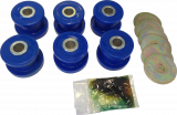 4940607, 5233382, RD61346923A, Saab, 9-5, Suspension, Front suspension, Performance, Polyurethane bushing, Steering, Tuning, Bushing, Kit, Front, 6, Piece