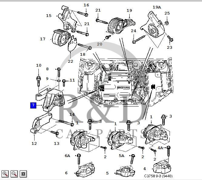 saab engine mounts diagram saab free wiring diagrams