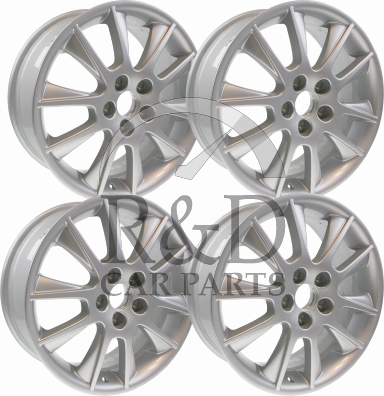 Set Of 4 New 17 Inch 10 Spoke Alu 39 Alloy Wheels 32026149