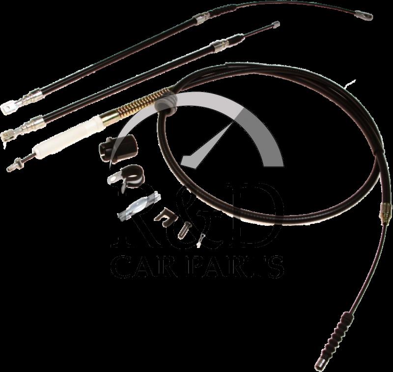 BORG /& BECK HANDBRAKE CABLE FOR A MERCEDES-BENZ VITO BUS 2.3 72KW