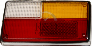 1212703, Volvo, 140, 160, 240, Lighting, Tail lamps, Lens, Tail, Light, Rh, 140/164/240, 2d/4d