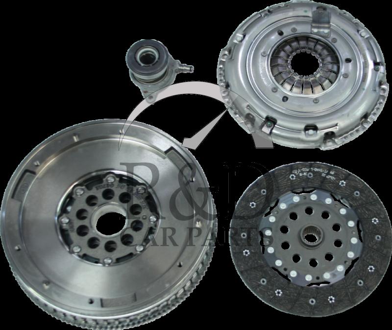 Clutch And Flywheel Kit 4-CYL 2.0 Diesel Volvo S80/V70