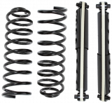 1329500, 1359710, 66110, Volvo, 740, 760, 940, 960, New, Shock, Absorber, Spring, Kit, Rear, Heavy, Duty, 740/760/940/960