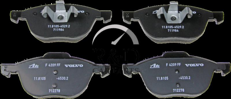 542 Advantage Brake Calipers Rear Near /& Offside Pair Fits C30 544 1730926 C70 Mk2 533 V50 525,526 V40 545 2004Onward OE 1730929 S40 Mk2