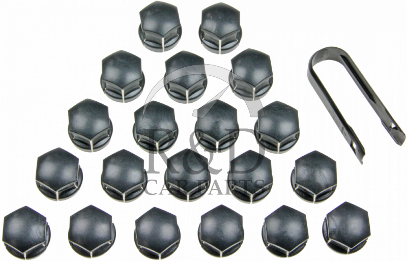 Precision 16 x Black Chrome Wheel Bolts Set with 4 x Locking Nuts for ŚUZUKI SX4 with Genuine /& Aftermarket Alloy Wheels Part No.16BM17B+B17B181