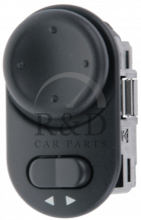 5241211, Saab, 9-3, 9-5, Electrical, Sensors, Switches, Other, Switch, Mirror, 9-3v1/9-5