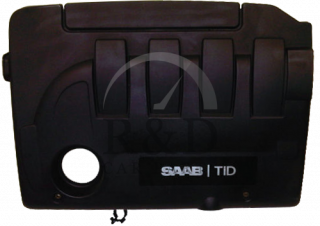 55555630, Saab, 9-3, Engine, Cover, 9-3ss, 2005, Z19dt, Used