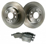 12762290, 13322091, 93186300, 93190338, Saab, 9-3, Brakes, Brake discs, Rear, Brake, Replacement, Kit, 15, Inch