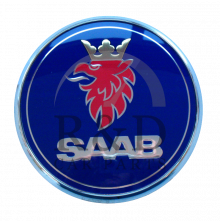 4910907, 5289889, Saab, 9-3, Emblem, Tail, Gate, 9-3v1