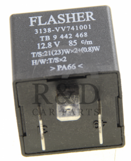 1363786, 8583627, 9442468, Saab, 900, 9000, Volvo, 740, 760, Electrical, Relays, Relay, Flasher, 900/9000, 700
