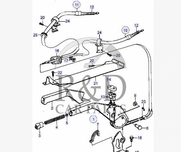 Saab Brakes Diagram