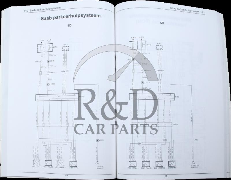 saab 9 5 acc wiring diagram workshop manual saab 9-5 3:2 electrical system wiring diagrams #6