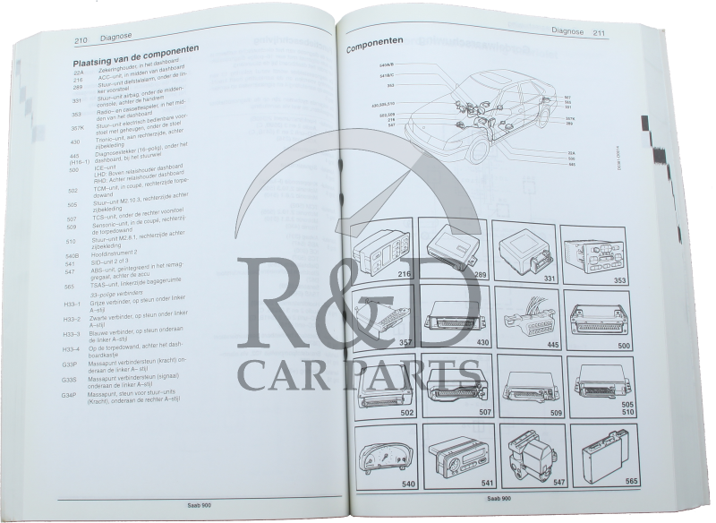 1985 1995 Saab 900news Electrical System Wiring Diagrams Service Oem 95