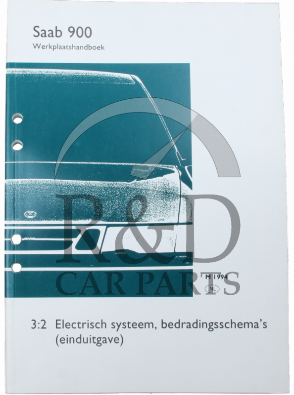 Workshop Manual Saab 900NG 3:2 Electric system wiring diagrams