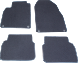 12782104, 12824105, Saab, 9-3, Accessories, Mats, Mat sets estate/saloon, Mat sets sedan, Floor, Mat, Set, Grey, 9-3ss/se