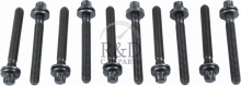 5955794, Saab, 9-3, 9-5, 900, 9000, Engine, Cylinder head, Cylinder head bolts, Head, Bolt, Set, 10, Pieces, 900/9000/9-3/9-5