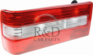 3518161, 3518169, Volvo, 740, Lighting, Tail lamps, Tail, Lamp, With, Fog, Light, Styling, White, Lh, 4d