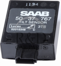 400110516, 5037767, Saab, 9-3, Tilt, Sensor, Anti, Theft, 9-3v1, 1998-2003