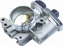 12616669, 12631187, 217-3429, Saab, 9-3, 9-5, Engine, Engine control, Exhaust, Throttle body, Inlet, Throttle, Body, 9-3ss/9-5, A20nft, A20nht, 2010-2011