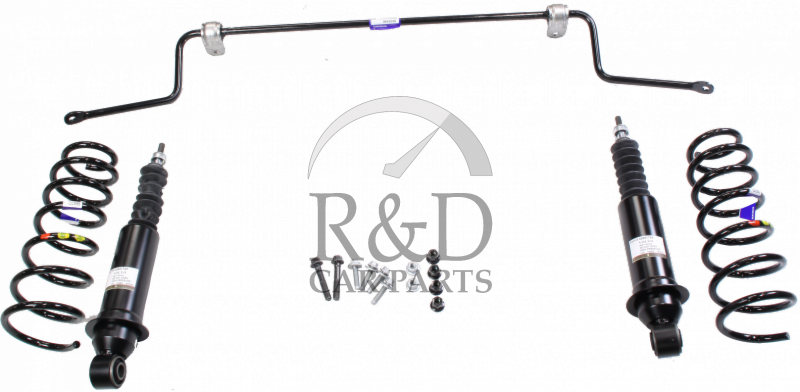 shock absorber conversion kit  height control volvo xc70