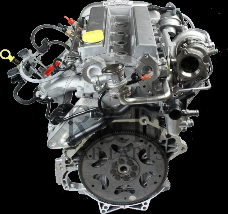 2003 Saab 43533 Transmission: Complete Engine B207 E/L 9-3, 12636280