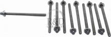 90412701, Saab, 9-3, 9-5, Engine, Cylinder head, Cylinder head bolts, Cylinder, Head, Bolt, Set, A16let