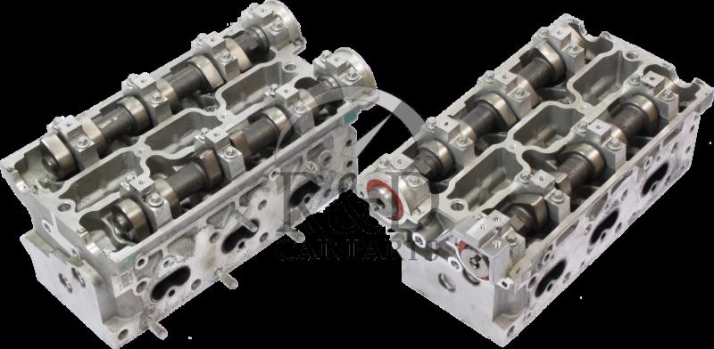 Cylinder Head front/rear V6 B308E Saab 9-5 '00-'03, gebruikt