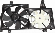 30822035, 30864349, 3345744, 3345745, Volvo, S40, V40, Radiator, Fan, S40/v40