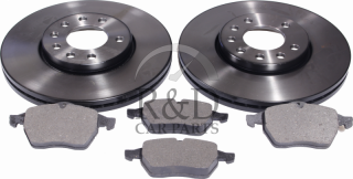 12759808, 32025723, 4839320, 93175482, 93192749, Saab, 9-3, 900, 9-5, Brakes, Brake discs, Front, Brake, Replacement, Set, 900ng/9-3v1/9-5