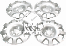 12768993, 32025897, Saab, 9-3, 9-5, Accessories, Steel rims, Wheel caps, Wheel, Cover, Kit, 16, Inch, Wheels, 9-3ss
