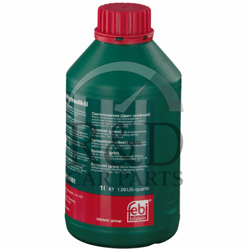 Powered Steering Hydraulic Oil 1l Syntetic Green 30741424